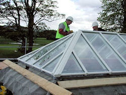bespoke rooflight under construction at castlewarden golf club kildare.jpg